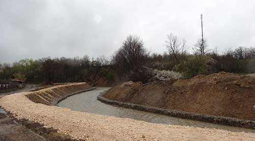 Fortification Of The Watercourse Of Telki Dere River, Author's SupervisionPazardjik Municipality