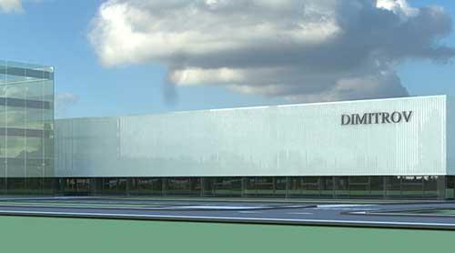 Produktions Verwaltungs Logistikgebäudekomplex MSStadt Pleven