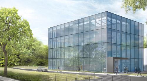 Verwaltungsgebäude Zum Produktions- Und Logistikkomplex M3Stadt Pleven