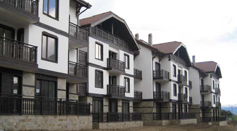 URLAUBSKOMPLEX 3 PLANINI (3 BERGE) Die Stadt Bansko