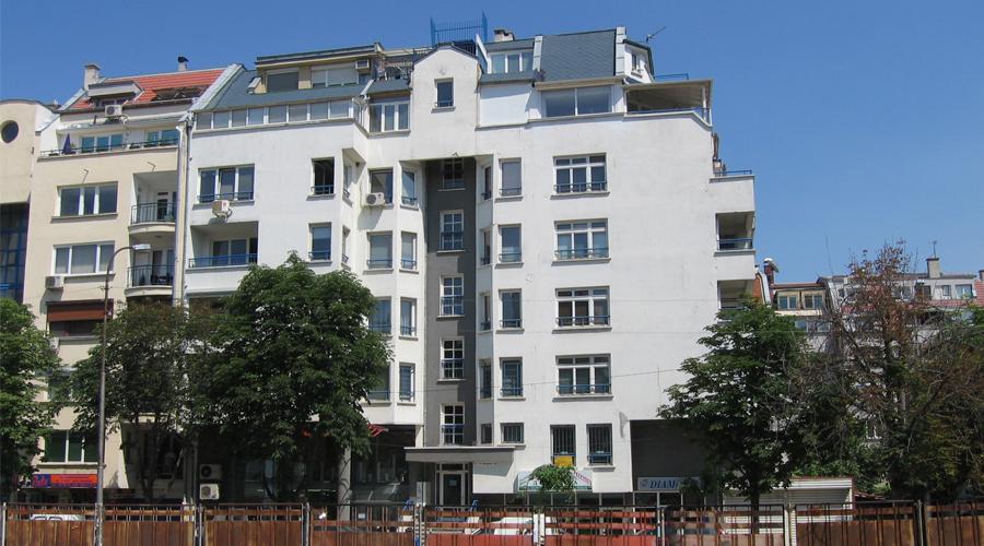 EOHNGEBÄUDE  Sofia, Geo Milev Wohnviertel